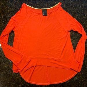 Dolan T-Shirt Bright Orange Long Sleeve Tee